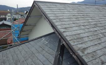 屋根の色あせ、劣化